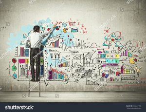 stock-photo-back-view-of-businessman-drawing-sketch-on-wall-150443150